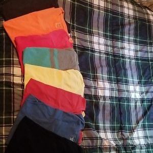 8 mossimo (target brand) tee shirts size medium